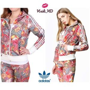 Adidas Originals Fugiprabali TT Multicolor Jacket